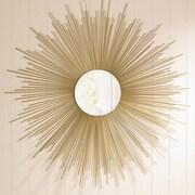 Zingz & Thingz Golden Rays Wall Mirror