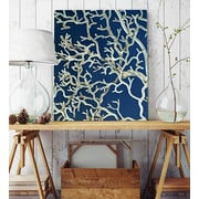 Artzee Designs 'Modern Twig Natural' Wall Art on Wrapped Canvas; 20'' H x 20'' W x 0.75'' D