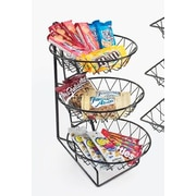 Cal-Mil 3-Tier Round Wire Basket Rack