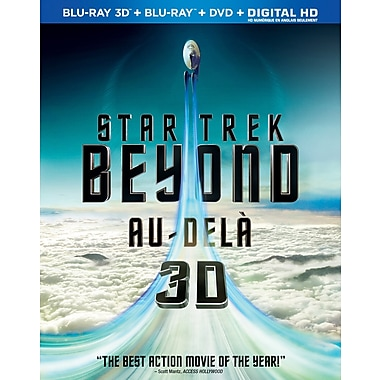 Star Trek Beyond (3D Blu-ray/Blu-ray/DVD)