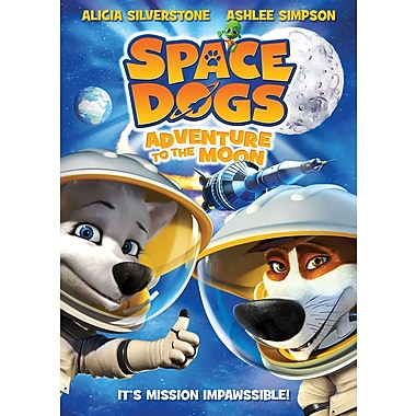 Space Dogs: Adventure to the Moon (DVD)