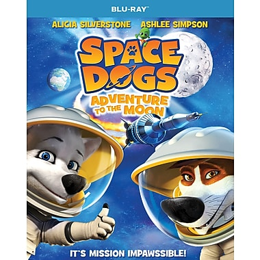 Space Dogs: Adventure to the Moon (Blu-ray)