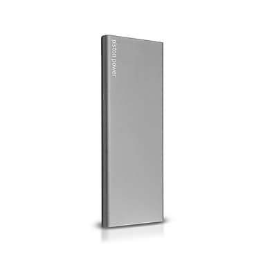 LOGiiX LGX-12312 Piston Power Pro 6000 mAh Portable Battery w/ SMART IC, Graphite Grey