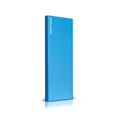 LOGiiX LGX-12353 Piston Power Pro 6000 mAh Portable Battery w/ SMART IC, Turquoise