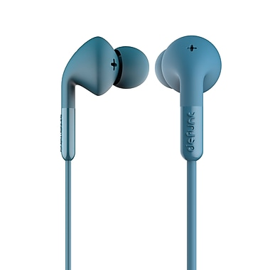 DeFunc DF-D0034 Plus Music Earphones, Blue