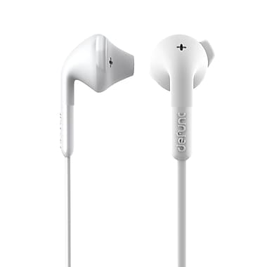 DeFunc DF-D0042 Plus Hybrid Earphones, White