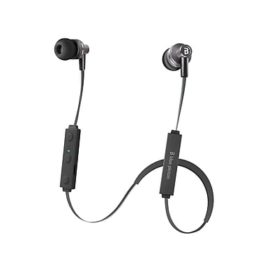 LOGiiX LGX-12224 Blue Piston tuneFREQS 360 BT Bluetooth In Ear Headphones, Graphite Grey