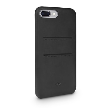 Twelve South TS-12-1653 Relaxed Leather with Pockets for iPhone 7 Plus/6 Plus/6s Plus, Black