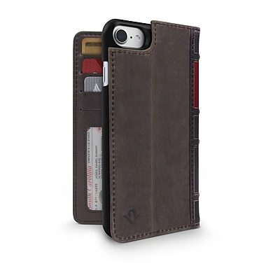 Twelve South - Étui TS-12-1658 BookBook pour iPhone 7/6/6s, brun