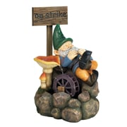 Zingz & Thingz Resin, Stone Powder and Sand on Strike Gnome Water Fountain