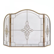 Zingz & Thingz Art Deco Iron Fireplace Screen