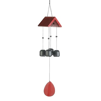 Zingz & Thingz Birdhouse Roof Wind Chime