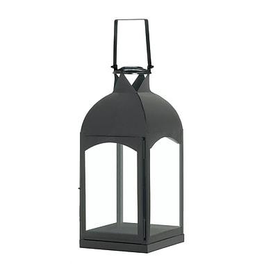 Zingz & Thingz La Domed Iron and Glass Lantern; Large
