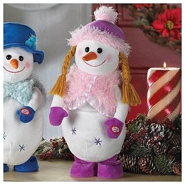 Zingz & Thingz 2 Piece Dancing Snowman Plush Set