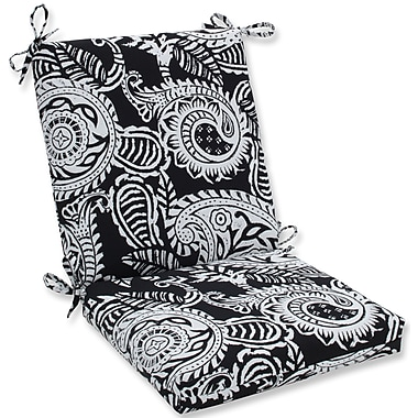 Pillow Perfect Addie Dining Chair Cushion; Black