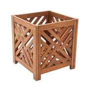ACHLA Fretwork Wood Planter Box