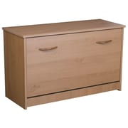 Rebrilliant Single Shoe Cabinet; Oak