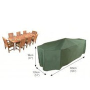 Bosmere Premier Rectangular Patio Dining Set Cover