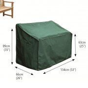 Bosmere Premier 2-Seater Bench Cover