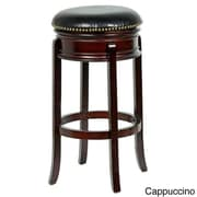 Mintra Bristol 29'' Swivel Bar Stool; Cappuccino