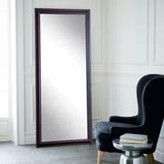 BrandtWorksLLC Burgundy Fair Wall Mirror; 65.5'' H x 31.5'' W