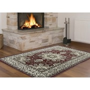 Samnm Trade Ritual Red/Brown Area Rug; 8' x 10'