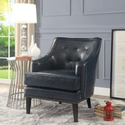 Inspired Home Co. Peabody Club Chair; Blue