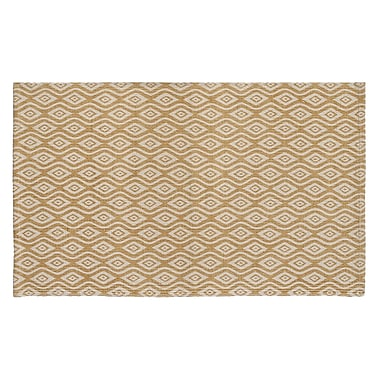 HFLT Waves Hand-Woven Biscuit Area Rug; 1'9'' x 2'10''