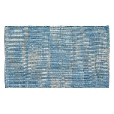 HFLT Tie Dye Basketweave Sky Blue Area Rug; 2'3'' x 3'9''
