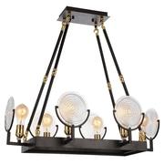CrystalWorld Bhima 6-Light LED Design Pendant