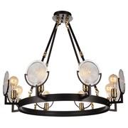 CrystalWorld Bhima 8-Light LED Design Pendant