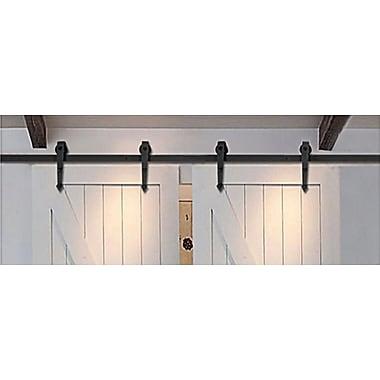Winsoon Double Arrow 10ft. Sliding Barn Door Hardware