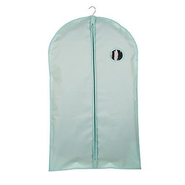 Glitzhome Full Zipper Suit Garment Bag ; Aqua