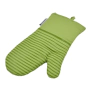 L.A Sweet Home Silicone 2 Piece Oven Mitts; Light Green