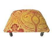 Corona Decor Belissimo Paisley Footstool