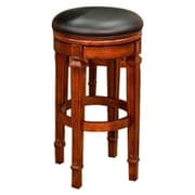 Beringer 30'' Swivel Bar Stool; Walnut
