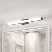 Lithonia Lighting 4-Light Bath Bar; Brushed Nickel