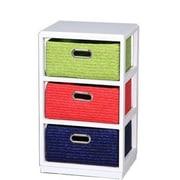 Essential Decor & Beyond 3 Drawer Storage Chest