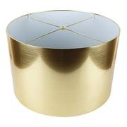 Urbanest Classic 16'' Drum Lamp Shade; Gold