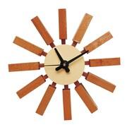 Mod Made 3'' Spoke Clock; Natural