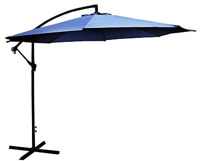 LB International 10' Cantilever Umbrella
