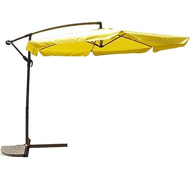 International Caravan 10' Cantilever Umbrella; Yellow