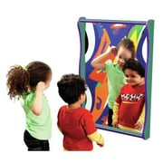 Playscapes Superwide Giggle Wall Mirror; Purple / Green