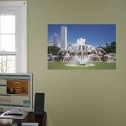 Wallhogs Chicago Fountains Glossy Poster