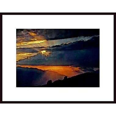 Printfinders 'High Sierra Sunset' by John Nakata Framed Photographic Print
