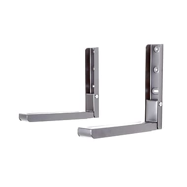 AVF (EM60S-A) Microwave Wall Mount Pair, Silver