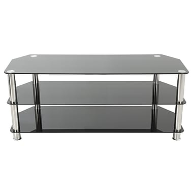 Avf Sdc1250 A Tv Stand Up To 60 Tvs Black Silver Staples