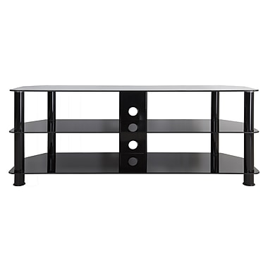 AVF (SDC1250CMBB-A) TV Stand Up to 60-inch TVs, Black