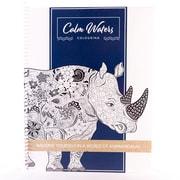 Calm Waters Colouring - Livre à colorier pour adultes : Entrez dans un monde d'« Animandalas », 8,5 po x 11 po, 60 pages