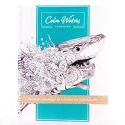Calm Waters Colouring - Livre à colorier pour adultes : Entrez dans un monde d'originalité, 8,5 po x 11 po, 60 pages